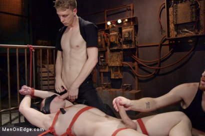 Photo number 12 from Hot captive with a 10 inch cock shot for Men On Edge on Kink.com. Featuring Doug Acre in hardcore BDSM & Fetish porn.