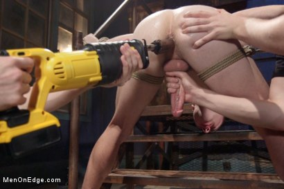 Photo number 9 from Hot captive with a 10 inch cock shot for Men On Edge on Kink.com. Featuring Doug Acre in hardcore BDSM & Fetish porn.