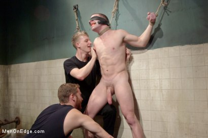 Photo number 2 from Hot captive with a 10 inch cock shot for Men On Edge on Kink.com. Featuring Doug Acre in hardcore BDSM & Fetish porn.
