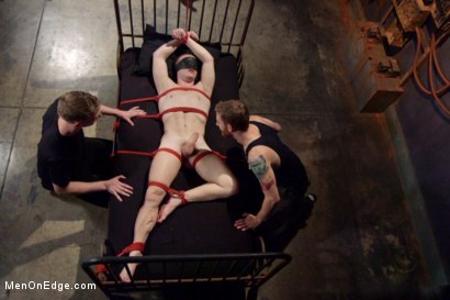 Photo number 10 from Hot captive with a 10 inch cock shot for Men On Edge on Kink.com. Featuring Doug Acre in hardcore BDSM & Fetish porn.