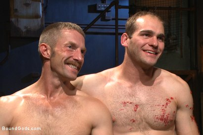 Photo number 11 from Creep Handyman torments and blackmails his boss shot for Bound Gods on Kink.com. Featuring Jonah Marx and Adam Herst in hardcore BDSM & Fetish porn.