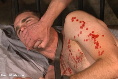 Photo number 13 from Creep Handyman torments and blackmails his boss shot for Bound Gods on Kink.com. Featuring Jonah Marx and Adam Herst in hardcore BDSM & Fetish porn.