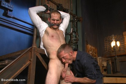 Photo number 2 from Creep Handyman torments and blackmails his boss shot for Bound Gods on Kink.com. Featuring Jonah Marx and Adam Herst in hardcore BDSM & Fetish porn.