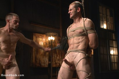 Photo number 4 from Creep Handyman torments and blackmails his boss shot for Bound Gods on Kink.com. Featuring Jonah Marx and Adam Herst in hardcore BDSM & Fetish porn.