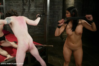 Photo number 14 from Mika Tan, Judas, Lorelei Lee and Elliot Skellington shot for Men In Pain on Kink.com. Featuring Lorelei Lee, Elliot Skellington, Mika Tan and Judass in hardcore BDSM & Fetish porn.