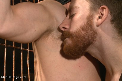 Photo number 3 from Is it a serial killer or a hot stud for edging on Halloween night? shot for Men On Edge on Kink.com. Featuring Zane Anders in hardcore BDSM & Fetish porn.