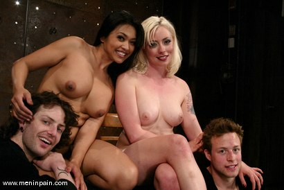 Photo number 15 from SPECIAL DELIVERY - part 2 shot for Men In Pain on Kink.com. Featuring Lorelei Lee, Judass, Elliot Skellington and Mika Tan in hardcore BDSM & Fetish porn.