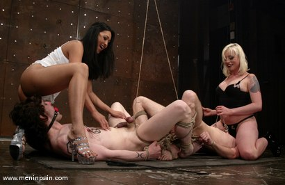 Photo number 3 from SPECIAL DELIVERY - part 2 shot for Men In Pain on Kink.com. Featuring Lorelei Lee, Judass, Elliot Skellington and Mika Tan in hardcore BDSM & Fetish porn.