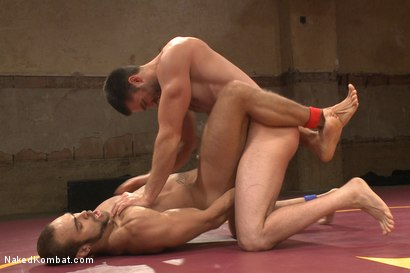 """Photo number 3 from Abel """"Armbar"""" Archer VS Brock """"The Big Show"""" Avery shot for nakedkombat on Kink.com. Featuring Abel Archer and Brock Avery in hardcore BDSM & Fetish porn."""