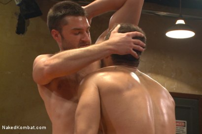 """Photo number 12 from Abel """"Armbar"""" Archer VS Brock """"The Big Show"""" Avery shot for nakedkombat on Kink.com. Featuring Abel Archer and Brock Avery in hardcore BDSM & Fetish porn."""