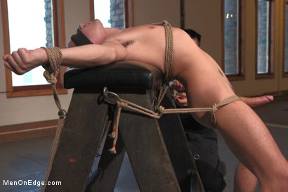 Photo number 4 from 23yo Stud with a big fat 8 inch cock! shot for Men On Edge on Kink.com. Featuring Dylan Knight in hardcore BDSM & Fetish porn.