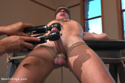 Photo number 7 from 23yo Stud with a big fat 8 inch cock! shot for Men On Edge on Kink.com. Featuring Dylan Knight in hardcore BDSM & Fetish porn.