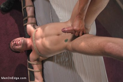 Photo number 10 from 23yo Stud with a big fat 8 inch cock! shot for Men On Edge on Kink.com. Featuring Dylan Knight in hardcore BDSM & Fetish porn.