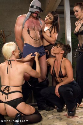 Photo number 14 from Relentless shot for Divine Bitches on Kink.com. Featuring Lea Lexis, Jonah Marx, Bella Rossi, Ariel X and Lorelei Lee in hardcore BDSM & Fetish porn.