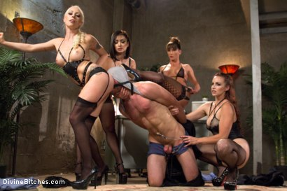 Photo number 2 from Relentless shot for Divine Bitches on Kink.com. Featuring Lea Lexis, Jonah Marx, Bella Rossi, Ariel X and Lorelei Lee in hardcore BDSM & Fetish porn.