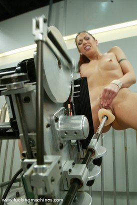 Photo number 7 from Satine Phoenix shot for Fucking Machines on Kink.com. Featuring Satine Phoenix in hardcore BDSM & Fetish porn.