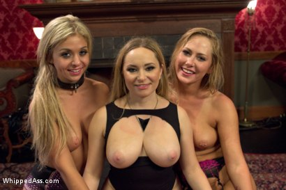 Photo number 8 from Lesbian Sex Slaves shot for Whipped Ass on Kink.com. Featuring Aiden Starr, Carter Cruise and Madelyn Monroe in hardcore BDSM & Fetish porn.