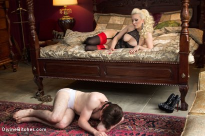 Photo number 3 from Personal House Slave Of Mistress Cherry Torn shot for Divine Bitches on Kink.com. Featuring Cherry Torn and Dirk Wakefield in hardcore BDSM & Fetish porn.