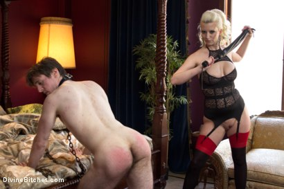 Photo number 5 from Personal House Slave Of Mistress Cherry Torn shot for Divine Bitches on Kink.com. Featuring Cherry Torn and Dirk Wakefield in hardcore BDSM & Fetish porn.