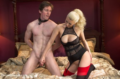 Photo number 4 from Personal House Slave Of Mistress Cherry Torn shot for Divine Bitches on Kink.com. Featuring Cherry Torn and Dirk Wakefield in hardcore BDSM & Fetish porn.