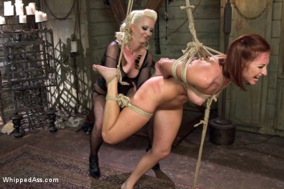 Photo number 7 from Caged Redhead shot for Whipped Ass on Kink.com. Featuring Cherry Torn and Sophia Locke in hardcore BDSM & Fetish porn.