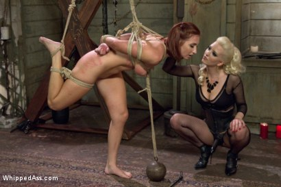 Photo number 14 from Caged Redhead shot for Whipped Ass on Kink.com. Featuring Cherry Torn and Sophia Locke in hardcore BDSM & Fetish porn.