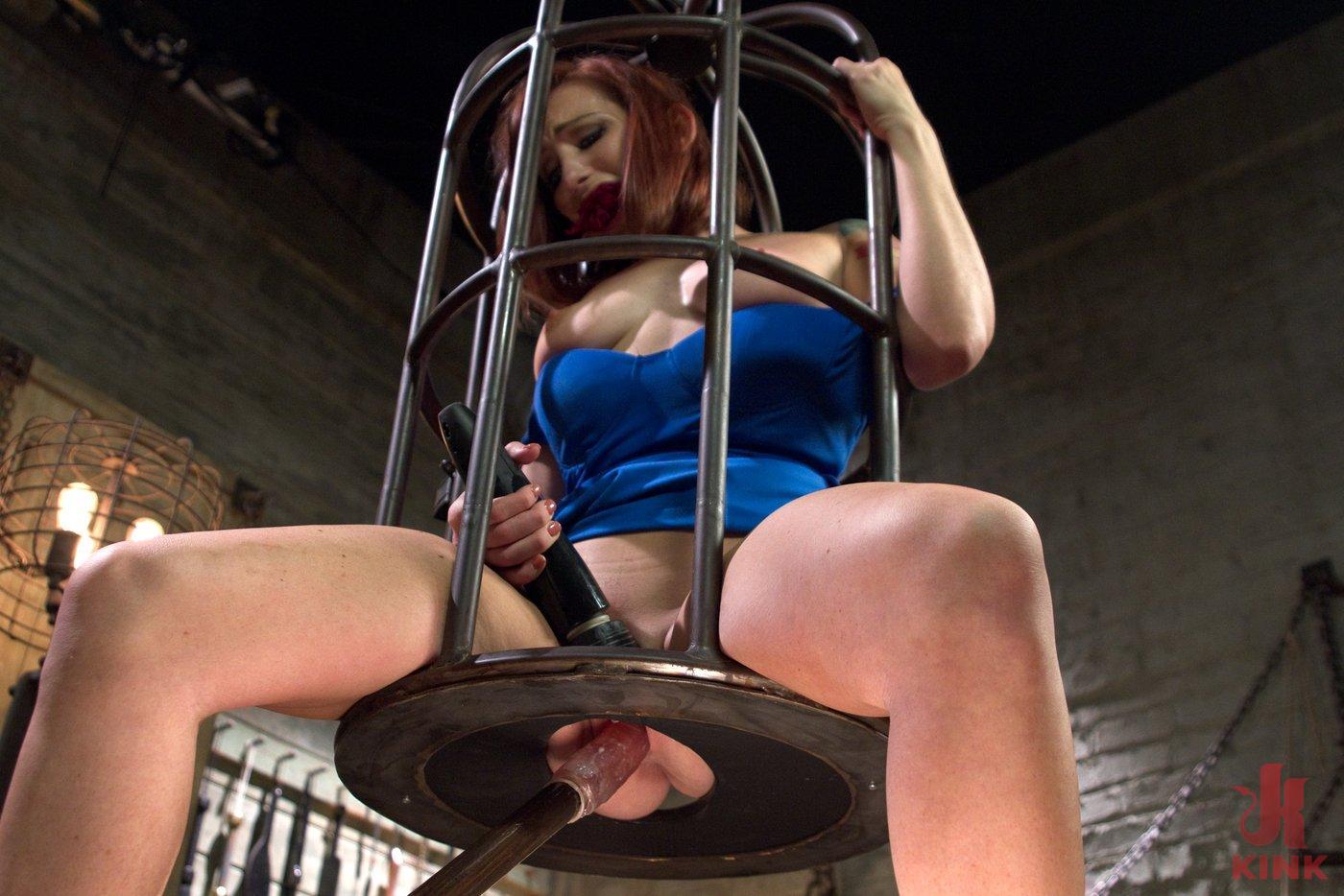 Caged Redhead