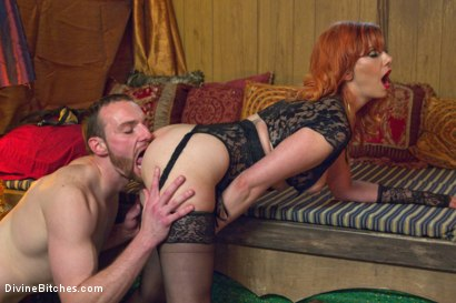 Photo number 8 from Divine Bitches Halloween Special: FemDom Freakshow! SPH cock edging! shot for Divine Bitches on Kink.com. Featuring Maitresse Madeline Marlowe  and Jimmy Bullet in hardcore BDSM & Fetish porn.
