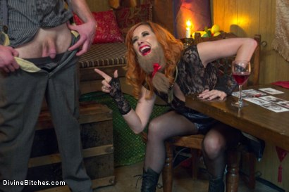 Photo number 1 from Divine Bitches Halloween Special: FemDom Freakshow! SPH cock edging! shot for Divine Bitches on Kink.com. Featuring Maitresse Madeline Marlowe  and Jimmy Bullet in hardcore BDSM & Fetish porn.
