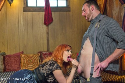 Photo number 11 from Divine Bitches Halloween Special: FemDom Freakshow! SPH cock edging! shot for Divine Bitches on Kink.com. Featuring Maitresse Madeline Marlowe  and Jimmy Bullet in hardcore BDSM & Fetish porn.