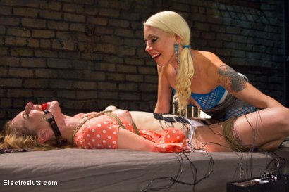 Photo number 10 from Ela and the Electricity: A Reunion shot for Electro Sluts on Kink.com. Featuring Lorelei Lee and Ela Darling in hardcore BDSM & Fetish porn.