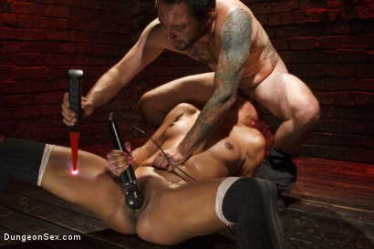 Photo number 14 from Bird in a Cage shot for Dungeon Sex on Kink.com. Featuring Daisy Ducati and Tommy Pistol in hardcore BDSM & Fetish porn.