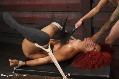 Photo number 4 from Bird in a Cage shot for Dungeon Sex on Kink.com. Featuring Daisy Ducati and Tommy Pistol in hardcore BDSM & Fetish porn.