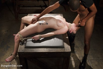 Photo number 4 from All Holes Fucked shot for Dungeon Sex on Kink.com. Featuring Mickey Mod and Veruca James in hardcore BDSM & Fetish porn.