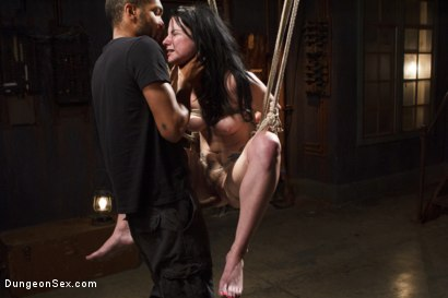 Photo number 7 from All Holes Fucked shot for Dungeon Sex on Kink.com. Featuring Mickey Mod and Veruca James in hardcore BDSM & Fetish porn.