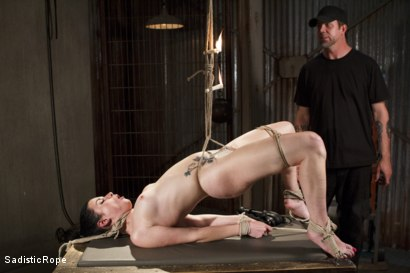 Photo number 1 from Predicaments shot for Sadistic Rope on Kink.com. Featuring Veruca James in hardcore BDSM & Fetish porn.