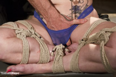 Photo number 4 from Predicaments shot for Sadistic Rope on Kink.com. Featuring Veruca James in hardcore BDSM & Fetish porn.