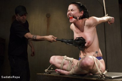 Photo number 5 from Predicaments shot for Sadistic Rope on Kink.com. Featuring Veruca James in hardcore BDSM & Fetish porn.