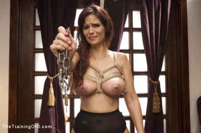 Photo number 2 from Domestic Anal MILF Training Syren de Mer, Day One shot for The Training Of O on Kink.com. Featuring Syren de Mer and Mickey Mod in hardcore BDSM & Fetish porn.