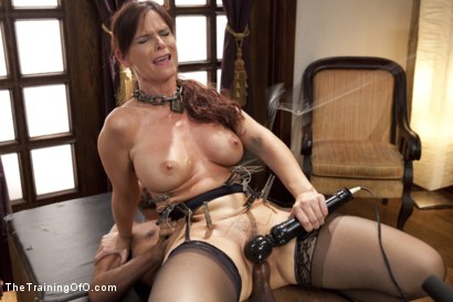 Photo number 7 from Domestic Anal MILF Training Syren de Mer, Day One shot for The Training Of O on Kink.com. Featuring Syren de Mer and Mickey Mod in hardcore BDSM & Fetish porn.