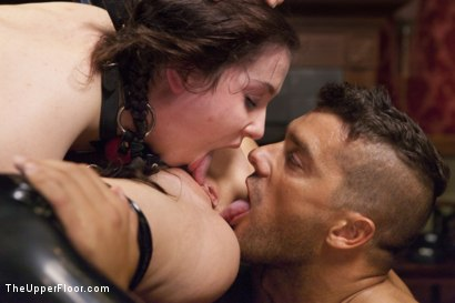 Photo number 8 from The Sex Toy and the New Maid shot for The Upper Floor on Kink.com. Featuring Ramon Nomar, Christie Stevens and Kasey Warner in hardcore BDSM & Fetish porn.