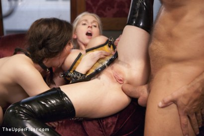 Photo number 12 from The Sex Toy and the New Maid shot for The Upper Floor on Kink.com. Featuring Ramon Nomar, Christie Stevens and Kasey Warner in hardcore BDSM & Fetish porn.