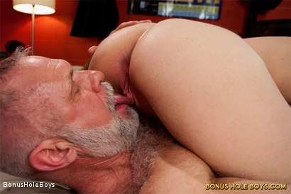 Photo number 10 from Sexual Education: An FTM Daddy Role Play with Allen Silver and James Darling shot for Bonus Hole Boys on Kink.com. Featuring James Darling and Allen Silver in hardcore BDSM & Fetish porn.