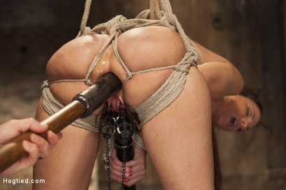 Photo number 12 from Big Tit MILF Syren de Mer Gets It Just the Way She Likes It shot for Hogtied on Kink.com. Featuring Syren de Mer in hardcore BDSM & Fetish porn.