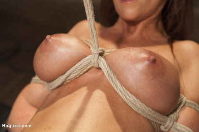 Photo number 6 from Big Tit MILF Syren de Mer Gets It Just the Way She Likes It shot for Hogtied on Kink.com. Featuring Syren de Mer in hardcore BDSM & Fetish porn.