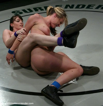 Photo number 4 from The Jester (1-4)<br>The Brawler (0-4) shot for Ultimate Surrender on Kink.com. Featuring Harmony and Dana DeArmond in hardcore BDSM & Fetish porn.