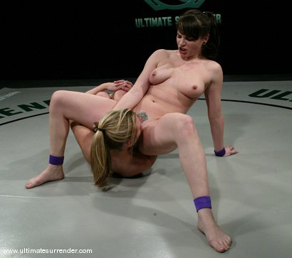 Photo number 15 from The Jester (1-4)<br>The Brawler (0-4) shot for Ultimate Surrender on Kink.com. Featuring Harmony and Dana DeArmond in hardcore BDSM & Fetish porn.