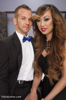 Photo number 2 from Venus Lux; The Final Affair shot for TS Seduction on Kink.com. Featuring Venus Lux and Will Havoc in hardcore BDSM & Fetish porn.