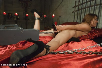 Photo number 12 from Happy Halloween! Sexy Babe in a Haunted House machine fucked to Orgasm shot for Fucking Machines on Kink.com. Featuring Alexa Raye in hardcore BDSM & Fetish porn.
