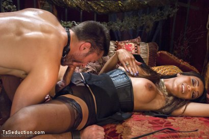 Photo number 13 from She's the Owner of all men - Yasmin Lee. shot for TS Seduction on Kink.com. Featuring Yasmin Lee and Abel Archer in hardcore BDSM & Fetish porn.